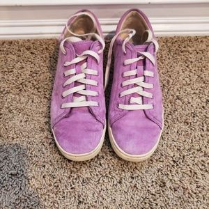 UGG Purple Suede Sneakers sz 10